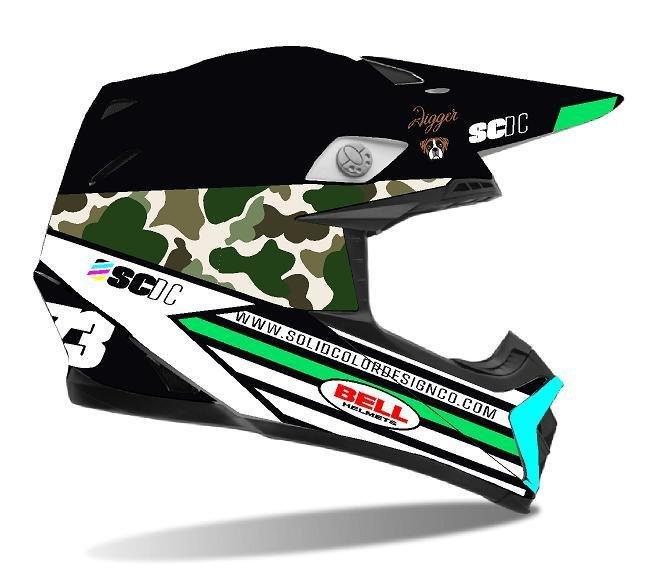 Custom Helmet Wraps