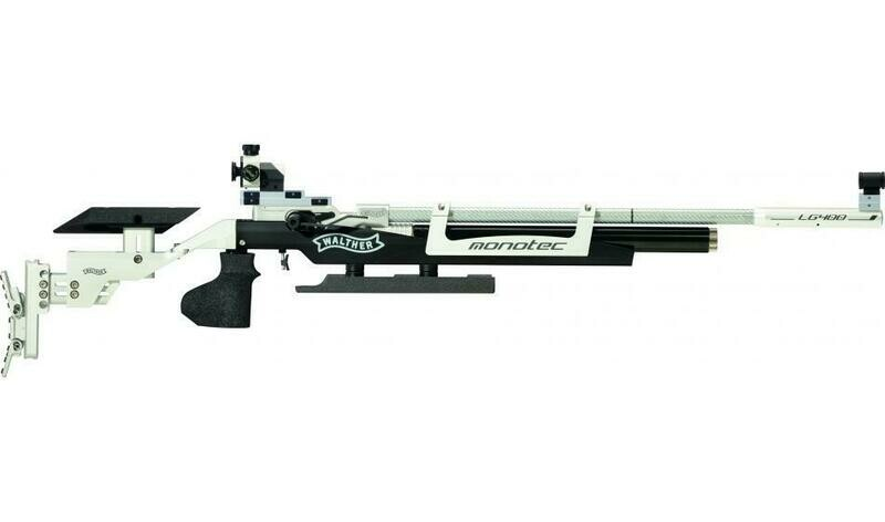 Walther LG400-E monotec Competition, right, M-grip Match Air Rifle