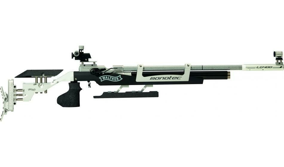 Walther LG400-E monotec Expert, right, M-grip Match Air Rifle