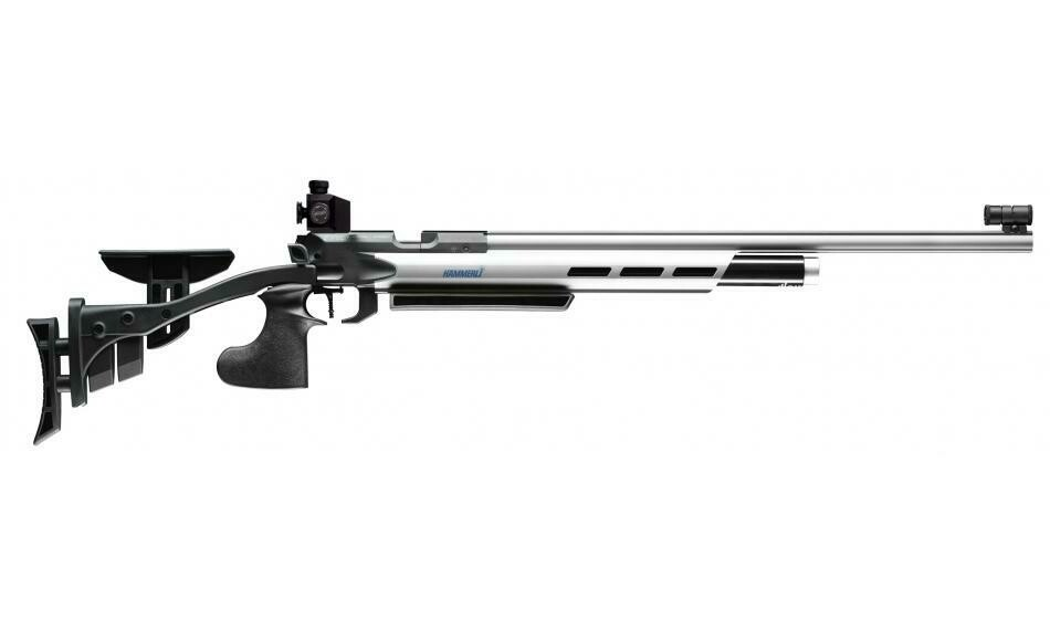 Hämmerli AR20 PRO Silver, right/left Match Air Rifle