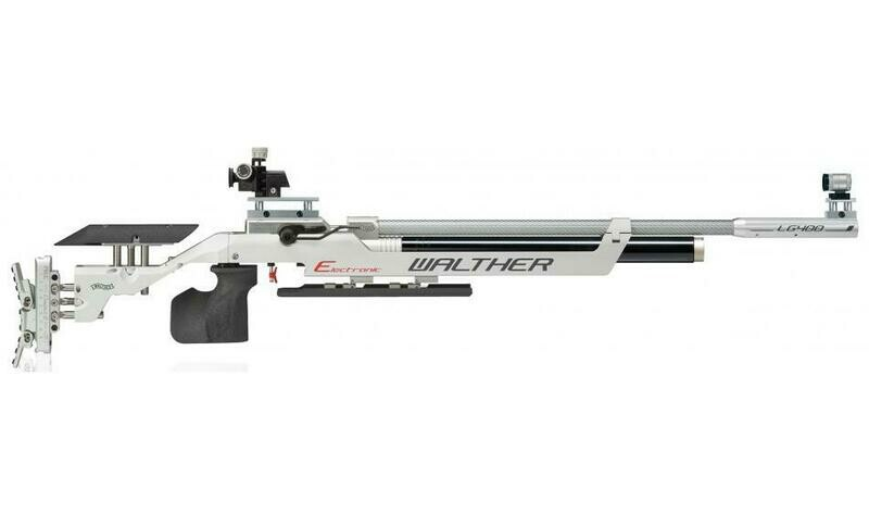 Walther LG400-E Expert, right, M-grip Match Air Rifle