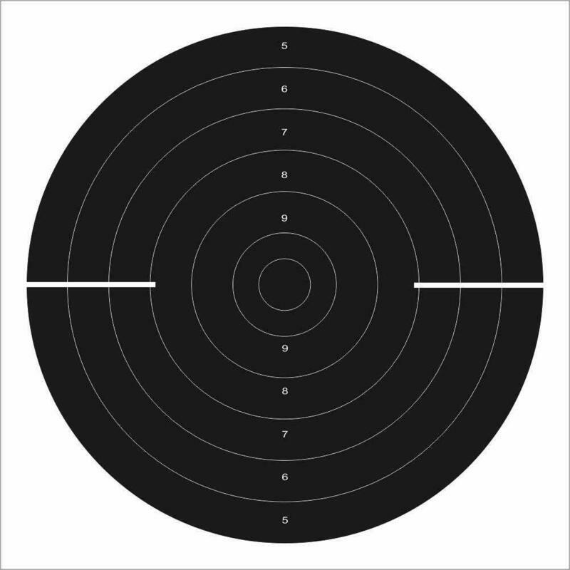 HSEPL 25 Meter Dueling Target (Qty 50 Set)