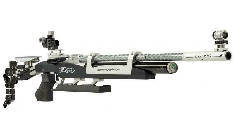 Walther LG400-E monotec, right, M-grip Match Air Rifle
