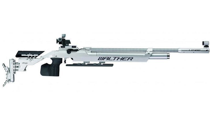 Walther LG400-M Expert, right, M-grip Match Air Rifle