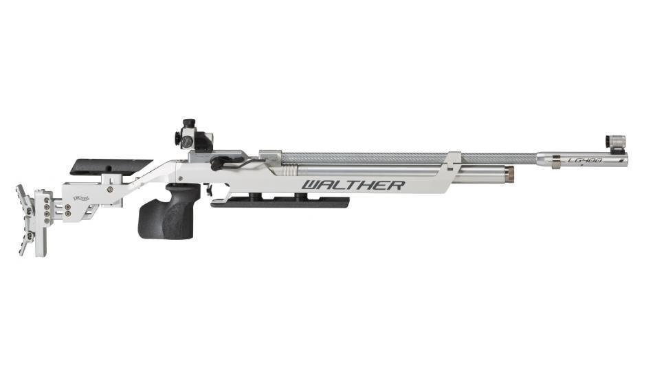 Walther LG400 Competition, right, M-grip Match Air Rifle