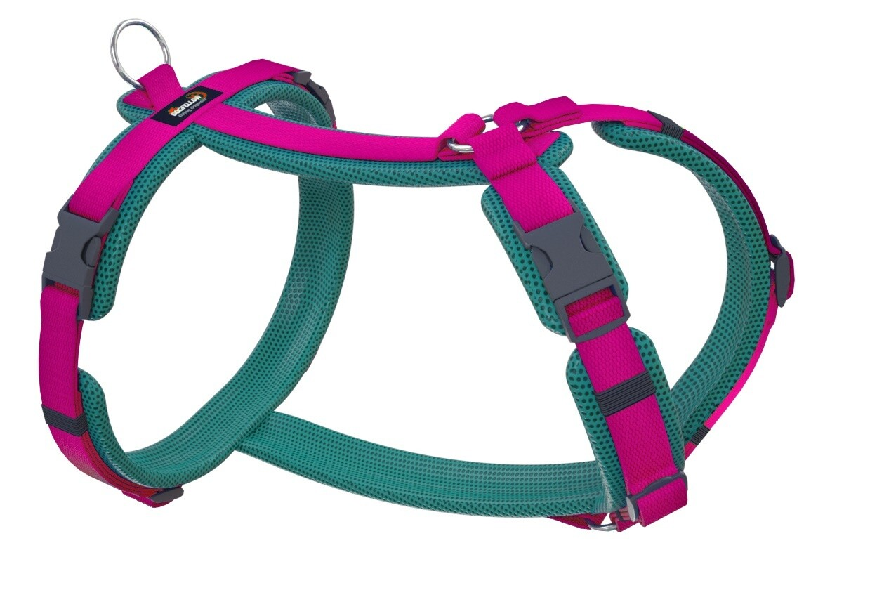 Easy cyanblau-pink XS