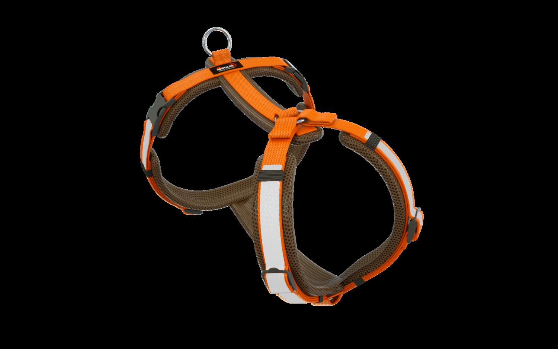 Secure Happy braun-orange XXXS