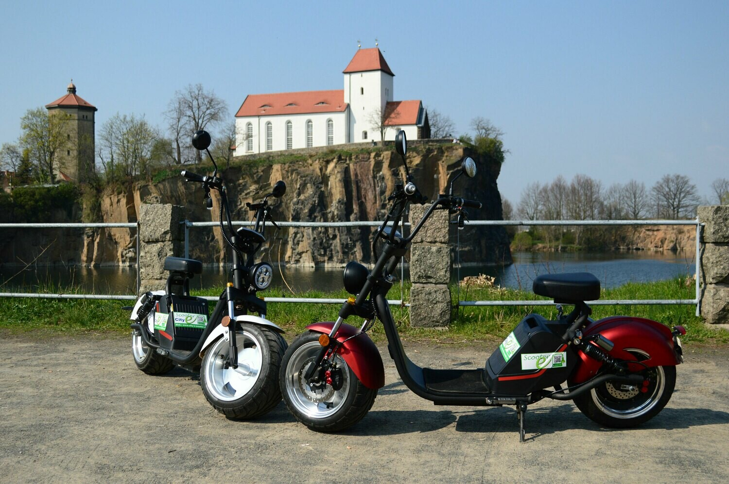 City-e-Scooter 2018 Modell HL 3.0 in 1500 W und  3000 W und  COC