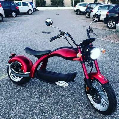 City-e-Scooter 2020 Model R804 mit COC