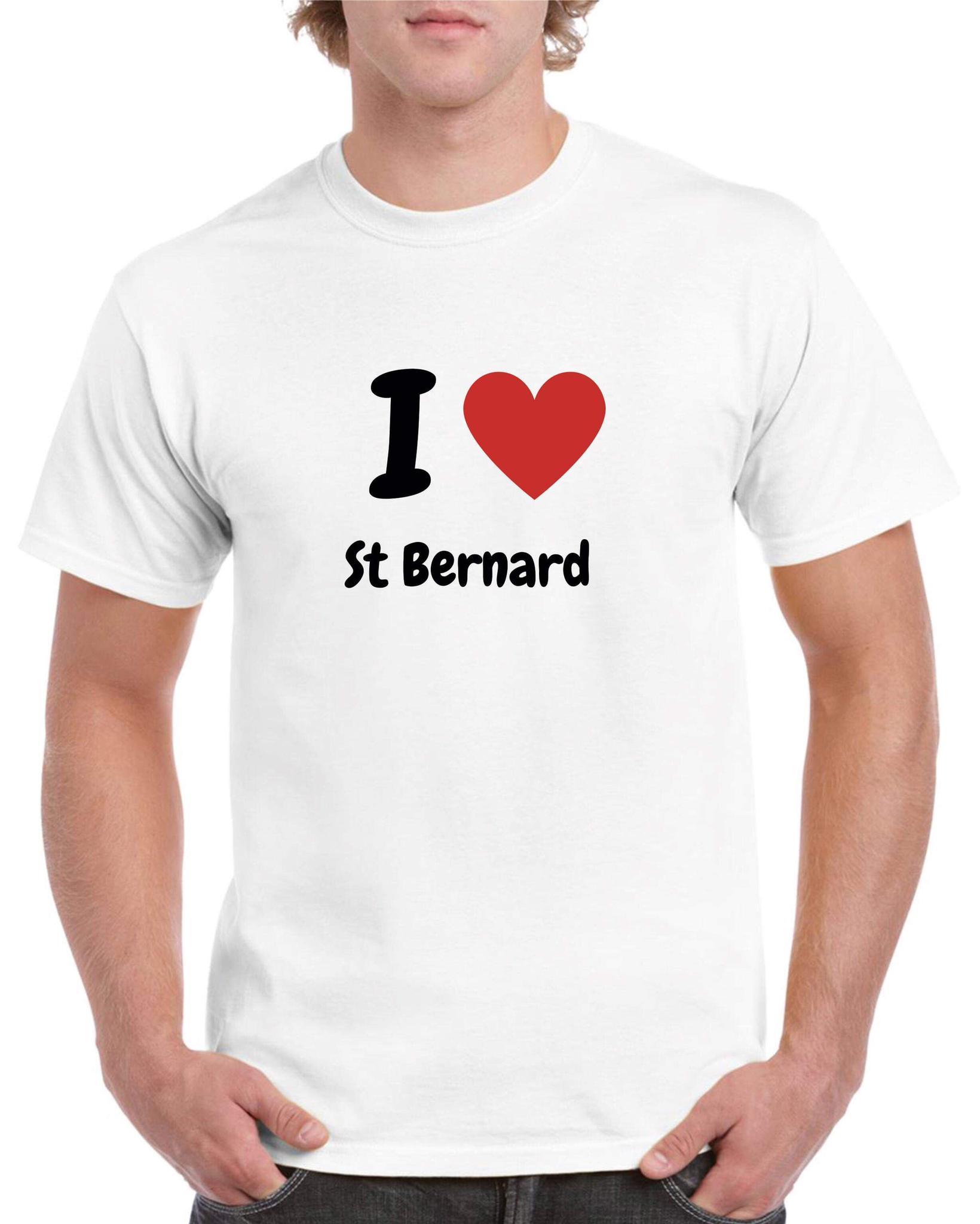 T-shirt póló - kerek-nyakú - fehér - Szentbernáthegyi