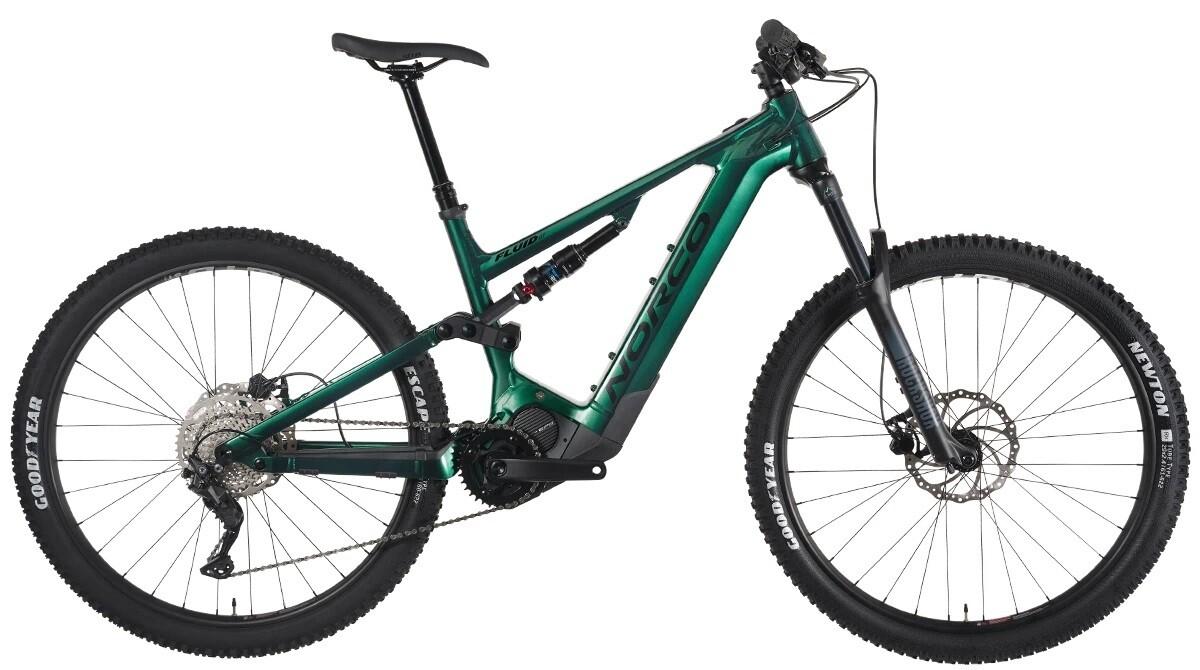 Norco - Fluid VLT A2 - Large - Couleur: Vert/Noir