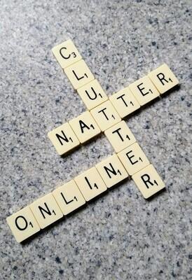 6th October 2020  Clutter Natter Online -£5 Donation