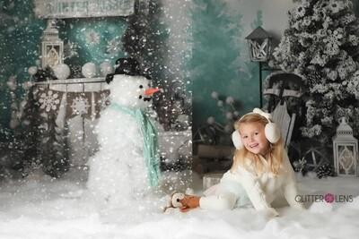 Snow Overlay Digital Download