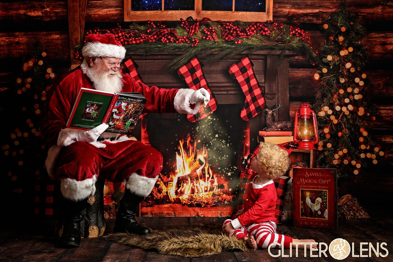*MORE TIMES ADDED** Cozy Cabin with Santa -   -  - November 21, 2020