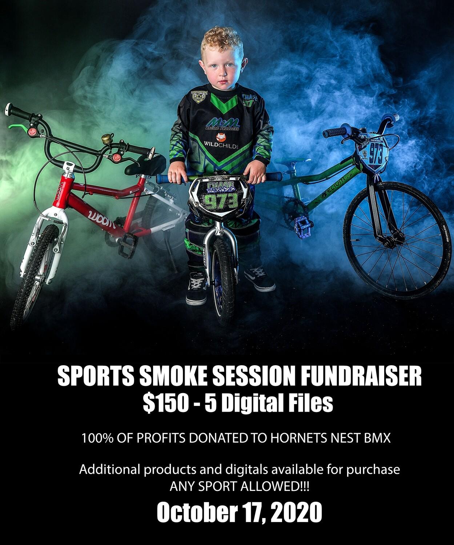 SPORTS smoke fundraiser