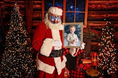 2020 Santa Covid Santa Composite