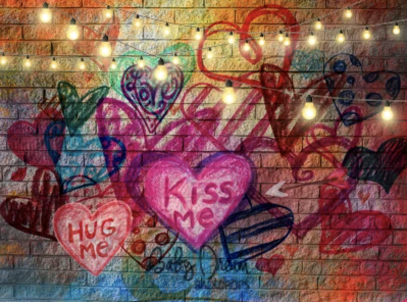 January 16 Valentines Graffitti Mini Sessions BOOKING FEE !
