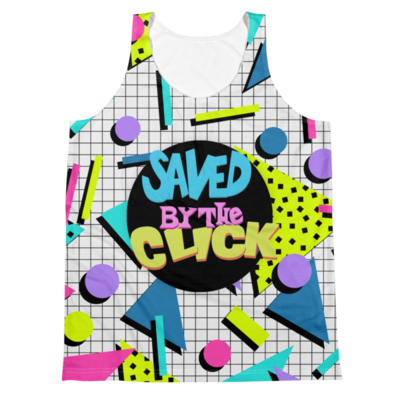 Saved By the Click  (All-Over Tank Top)