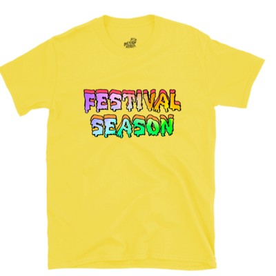 Festival Season Tee - Yellow