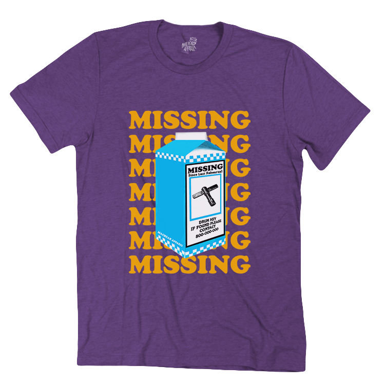 Missing Key Tri-Blend Tee (more colors available)