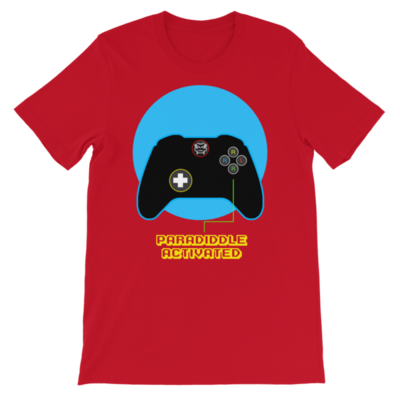 Red Paradiddle Controller Tee