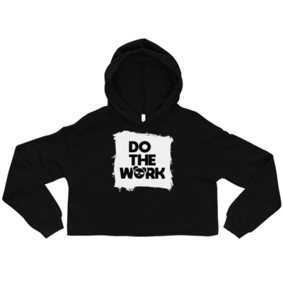 Do the Work Crop Hoodie