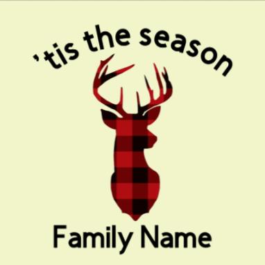 DIY - Winter Custom Family Name