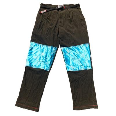 Silk Patch Corduroy Pants Sz. 36/34 (søv belt included)