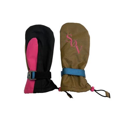 Brown/pink V3s Sz. L