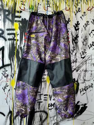 True Timber/Black Chute Pants Sz. S-M