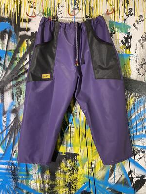 Daily Pants Sz. L Purple/Black