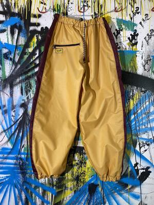 Chute Pants Sz. L Gold/Maroon