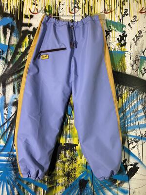 Chute Pants Sz. L Light Blue/Gold (heavy duty)