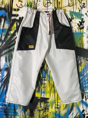 Daily Pants Sz. L White/Black