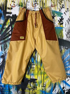 Daily Pants Sz. L Gold/Suede