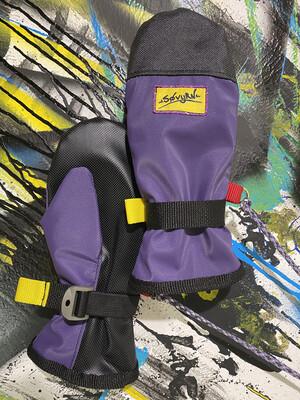 V2 Mitts Sz. M Purple/Black