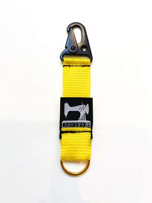 Keychain/Pass Holder Yellow