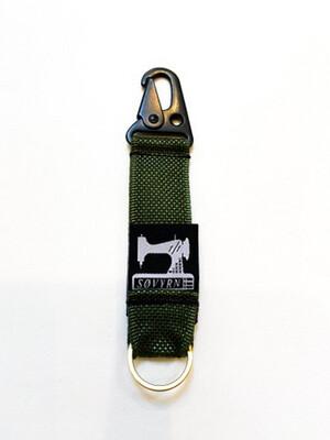 Keychain/Pass Holder Green