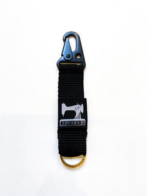 Keychain/Pass Holder Black