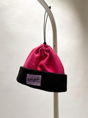 Sinch Top Beanie/Facemask Magenta/Black