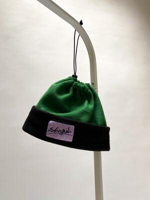Sinch Top Beanie/Facemask Green/Black