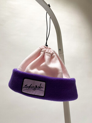 Sinch Top Beanie/Facemask Pink/Purple