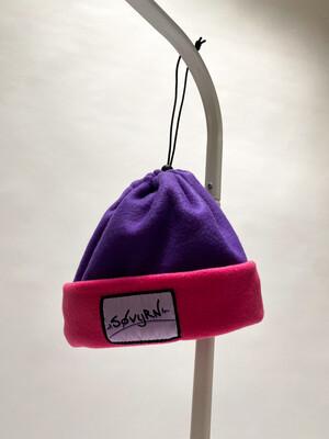 Sinch Top Beanie/Facemask Purple/Magenta
