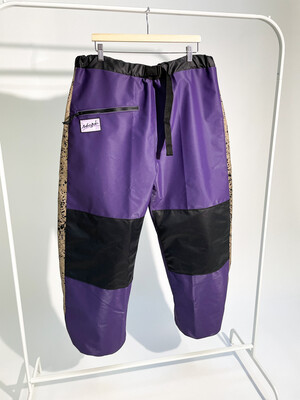 Purple Spackle Chute Pants With Liner Sz. L