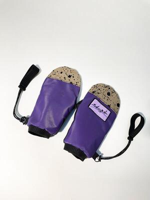 Purple Spackle V1 Mitts Sz. M-L