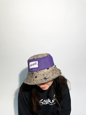 Purple Spackle Bucket Hat