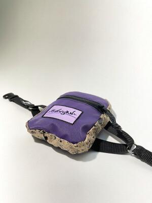Purple Spackle Boot Bag