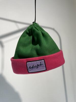 Sinch Top Beanie/Facemask Watermelon