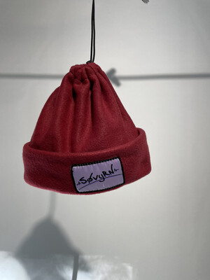 Sinch Top Beanie/Facemask Maroon