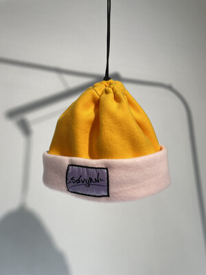 Sinch Top Beanie/Facemask Yellow/Pink
